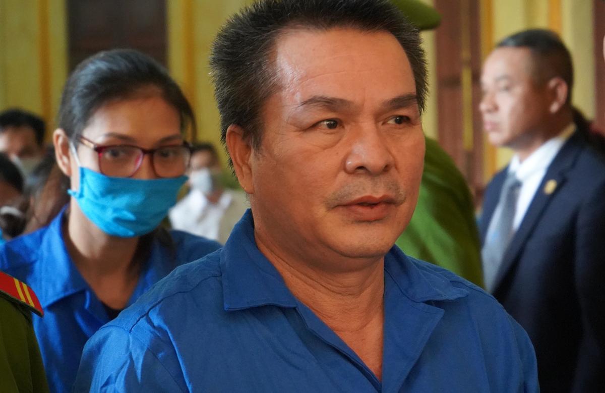 Ông Bùi Minh Chính ra toà ngày 23/12. Ảnh: Dương Trang.