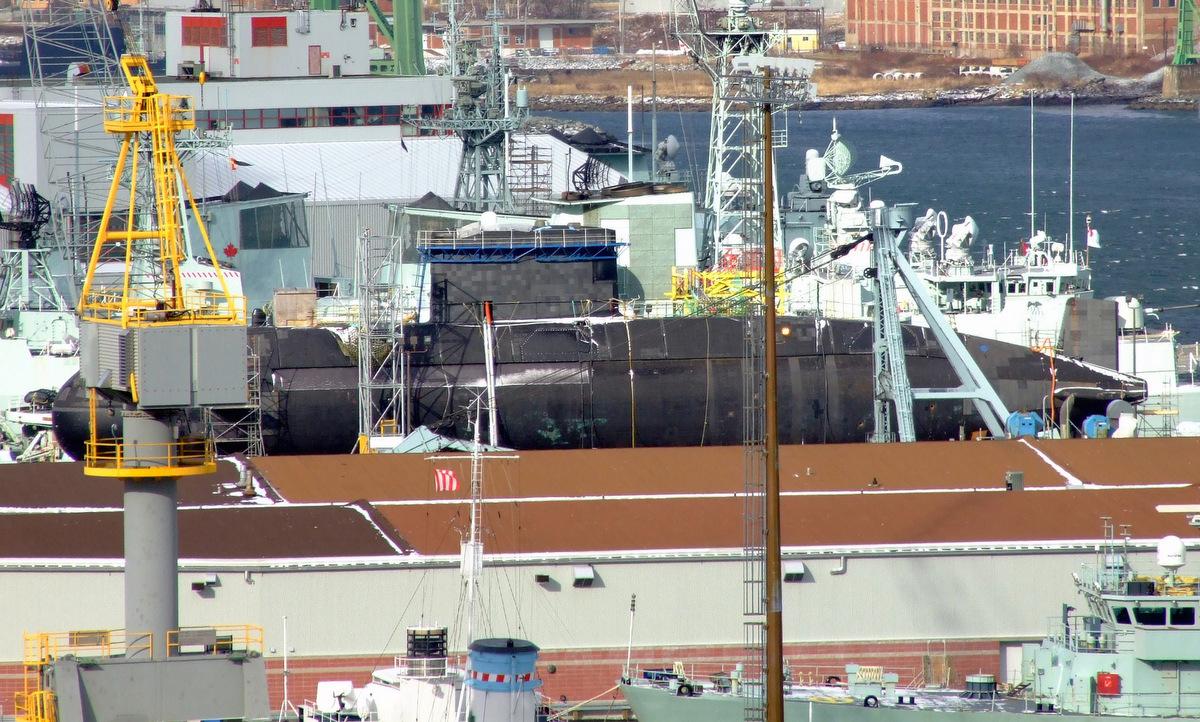HMS Chicoutimi nằm cảng bảo dưỡng năm 2007. Ảnh: Wikipedia.