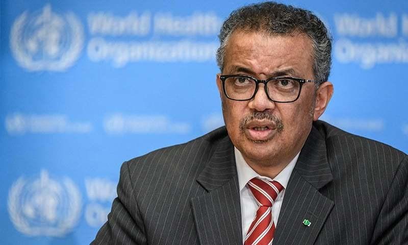 Tổng giám đốc Tổ chức Y tế Thế giới Tedros Adhanom Ghebreyesus. Ảnh: AFP