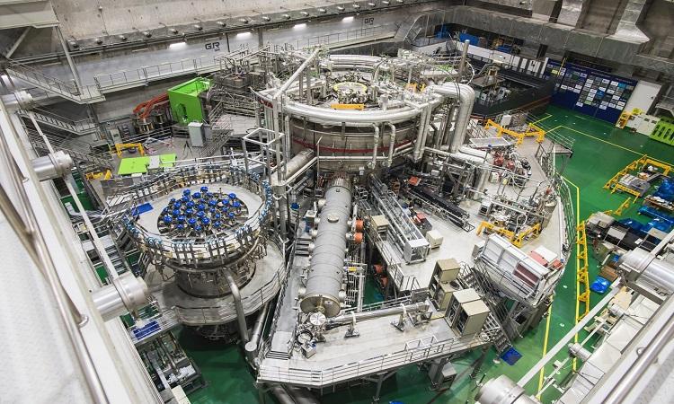 Lò phản ứng tokamak KSTAR. Ảnh: Hội đồng nghiên cứu khoa học và công nghệ quốc gia Hàn Quốc.