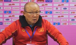 Ông Park chỉ rõ hạn chế của tuyển Việt Nam sau trận giao hữu