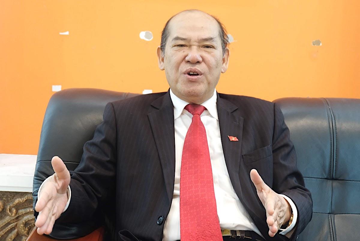 Ông Nguyễn Đức Hà, chuyên gia Xây dựng Đảng, Ban Tổ chức Trung ương. Ảnh: Hoàng Thùy