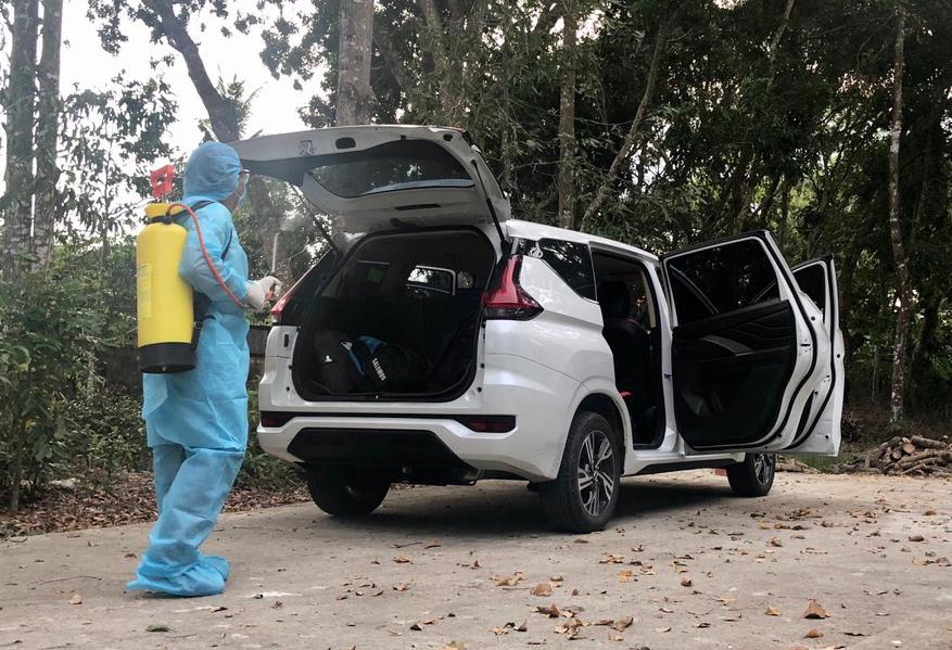 Hành trình tài xế chở bệnh nhân 1440 từ biên giới