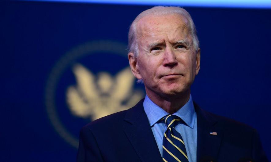 Tổng thống đắc cử Mỹ Joe Biden tại thành phố Wilmington, bang Delaware, hôm 28/12. Ảnh: AFP.