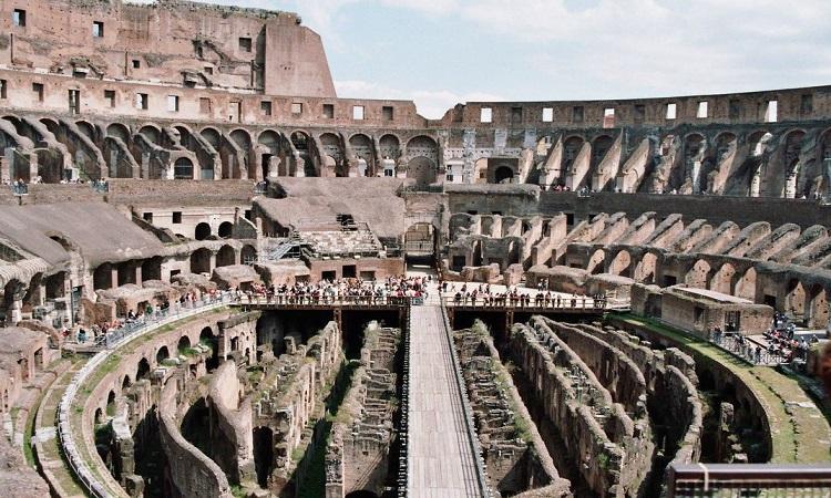 Đấu trường La Mã ở Rome, Italy. Ảnh: Wikipedia.