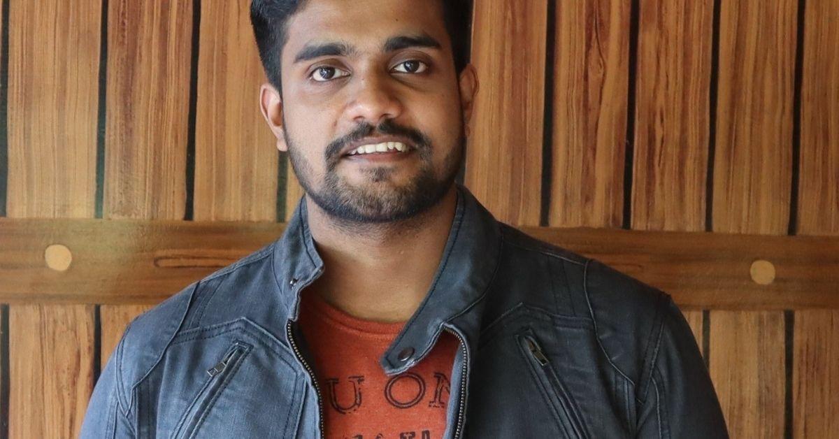 Vineeth T Kurup tự học tiếng Anh, lập kênh Youtube dạy ngôn ngữ này. Ảnh: Vineeth T Kurup.