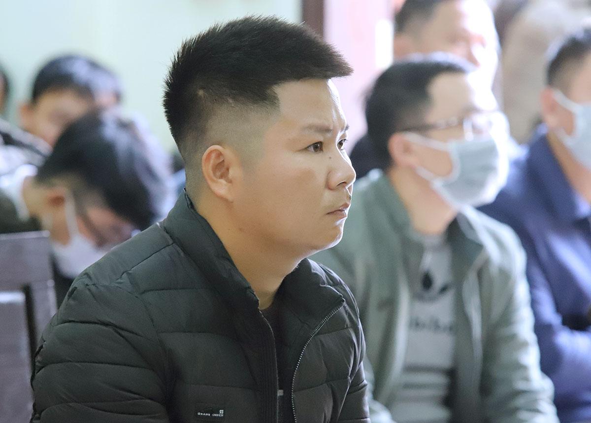 Bị cáo Quỳnh tại tòa. Ảnh: Đức Hùng