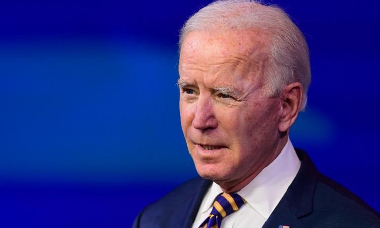 Tổng thống đắc cử Joe Biden phát biểu tại Wilmington, Delaware, Mỹ, hôm 29/12. Ảnh: AFP.