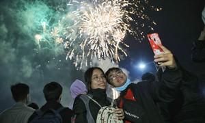 Nhiều người Sài Gòn đón năm mới trong 'cảnh giác'