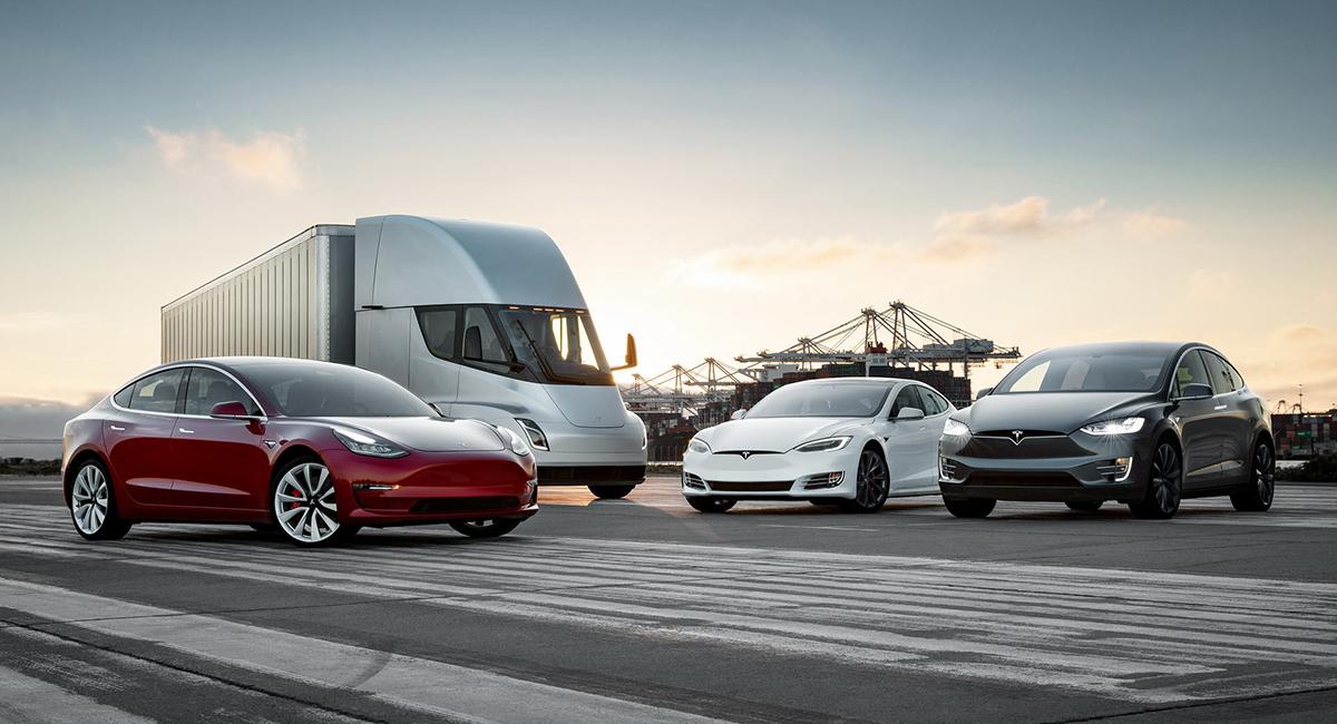 Các mẫu xe của Tesla đang bán. Ảnh: Tesla