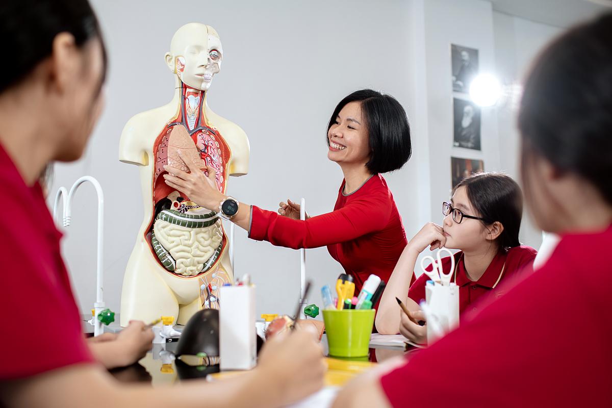Giáo viên VAS có kinh nghiệm, kiến thức và nhiệt huyết với công việc. Ảnh: VAS.