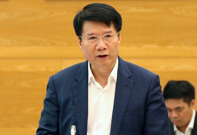 Thứ trưởng Y tế Trương Quốc Cường. Ảnh: Đình Trung