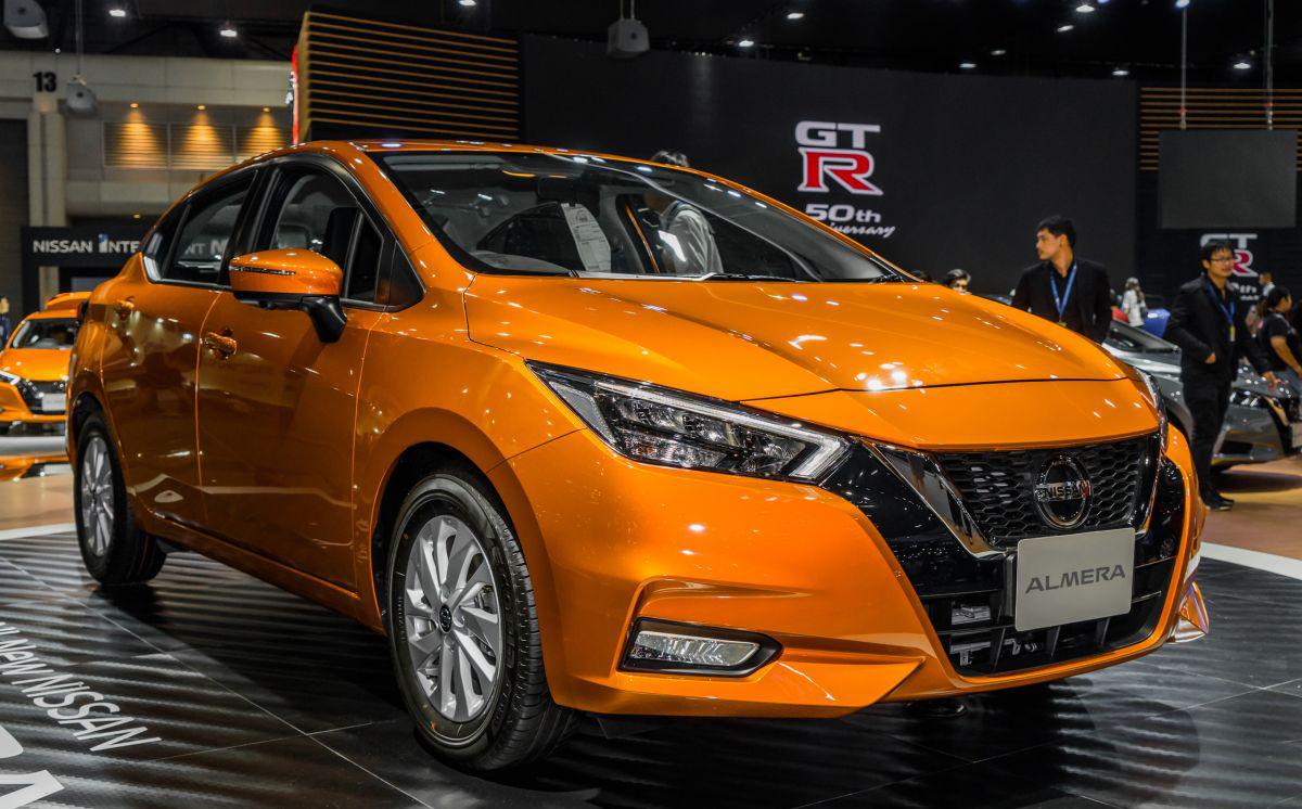 Nissan Almera (tên gọi khác của Sunny tại thị trường Thái Lan) ở triển lãm Thai Motor Expo 2019. Ảnh: Paultan