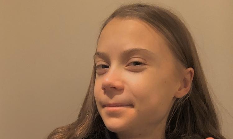 Greta Thunberg đăng ảnh mừng sinh nhật năm 18 tuổi hôm 3/1. Ảnh: Twitter/ Greta Thunberg.