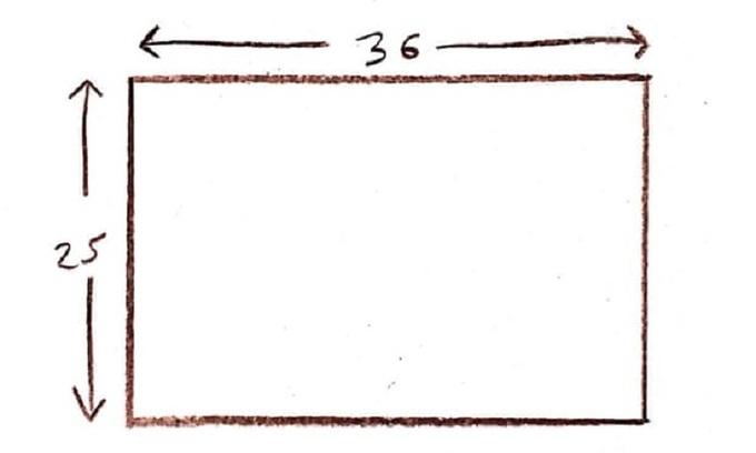 Làm sao để cưa tấm gỗ hình chữ nhật thành hình vuông?