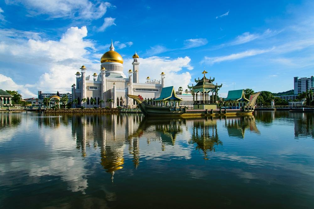 Một nhà thờ Hồi giáo ở Brunei. Ảnh: Shutterstock.