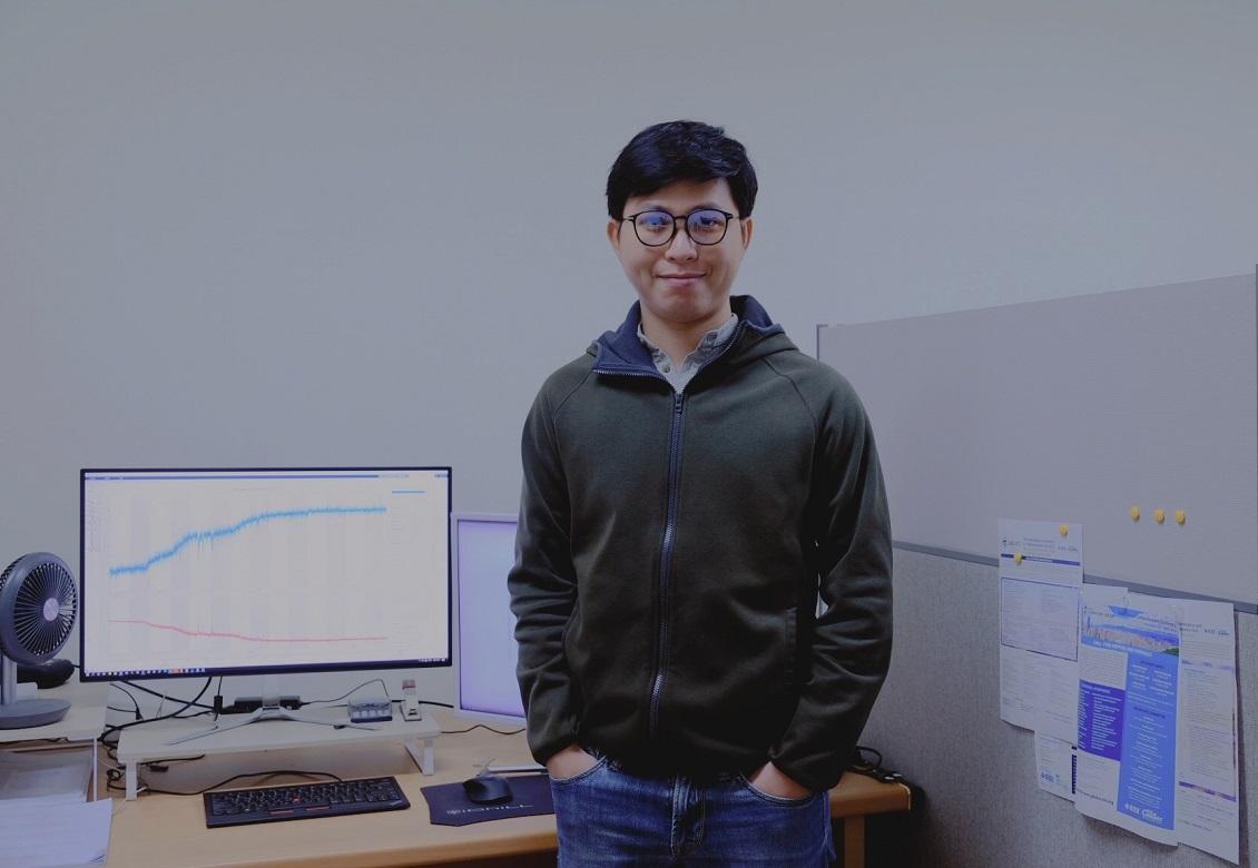TS Huỳnh Thế Thiện là gương mặt trẻ nhận giải thưởng Quả cầu vàng 2020 lĩnh vực KHCN. Ảnh: NVCC.