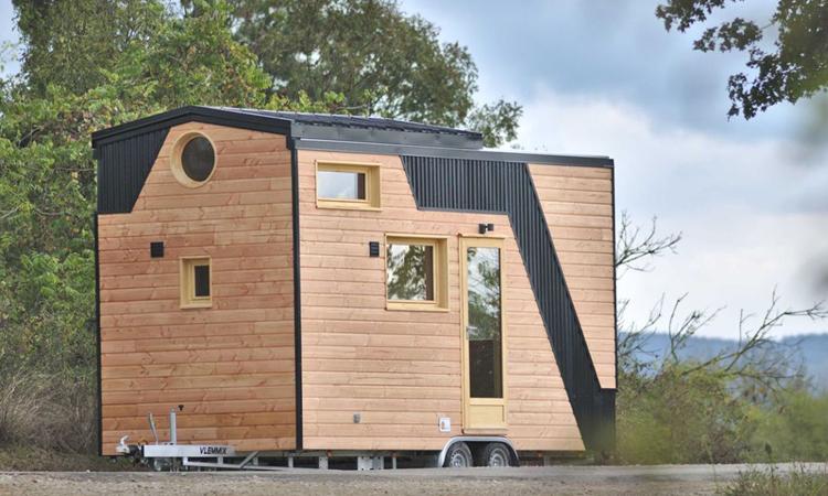 Nhà nhỏ di động Marie Ange rộng 19 m2. Ảnh: Optinid.