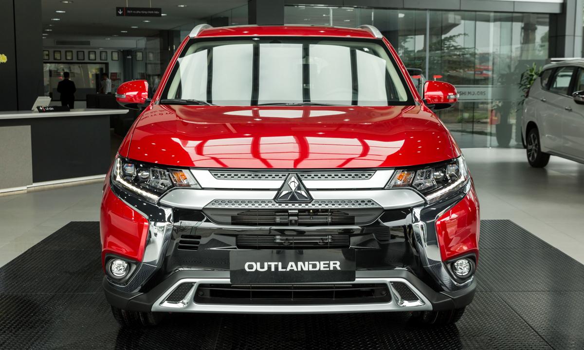 Mẫu Outlander thế hệ mới 2020. Ảnh: Mitsubishi