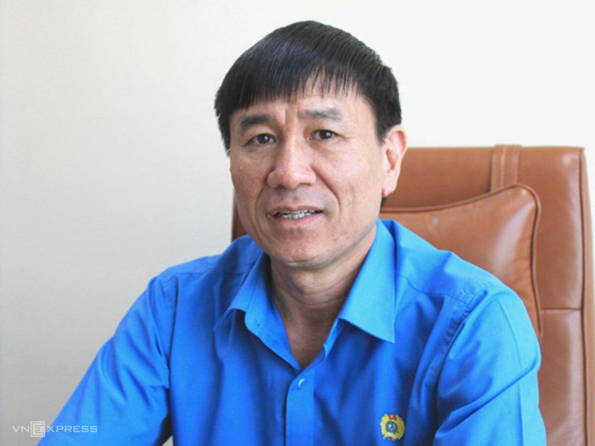 Ông Lê Đình Quảng, Phó ban Quan hệ lao động Tổng liên đoàn. Ảnh: Đoàn Loan