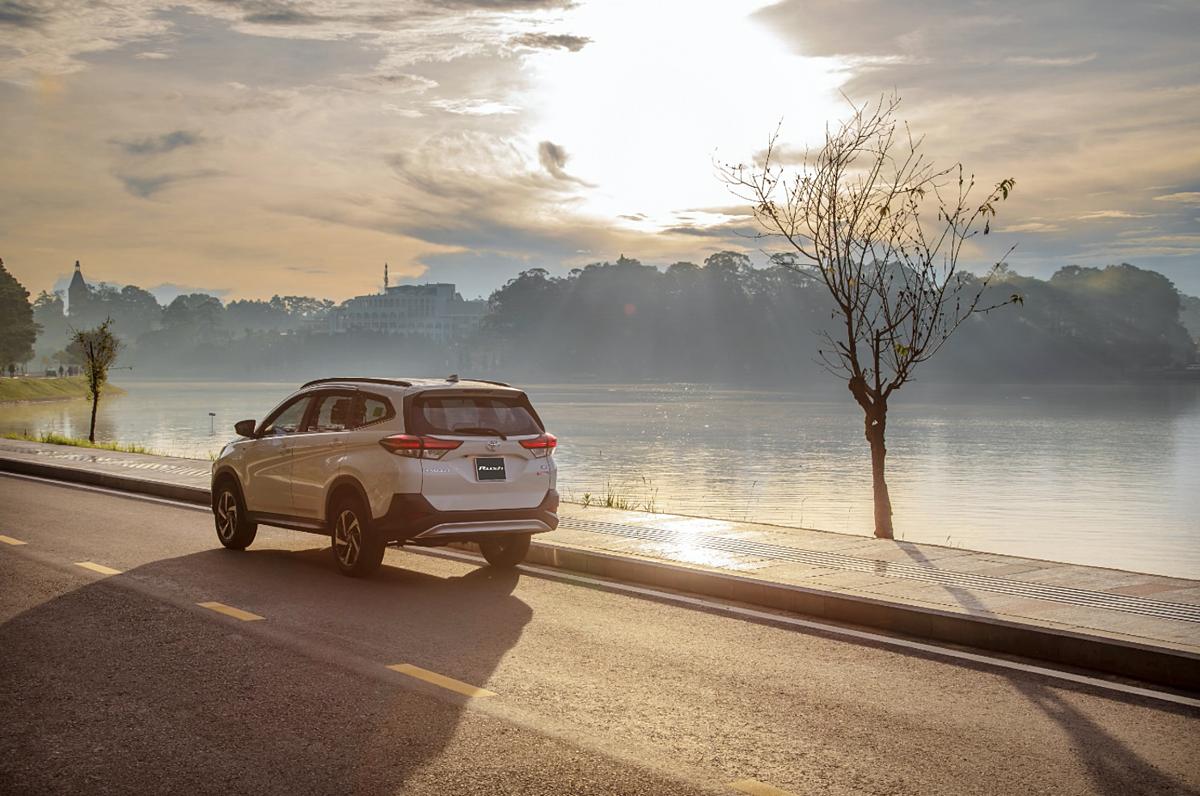 Toyota Rush tại Đà Lạt.