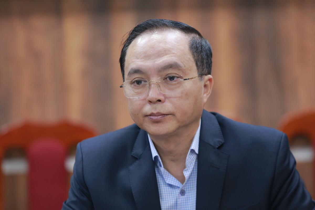 Ông Nguyễn Trọng Tân, Giám đốc Sở Nội vụ Bắc Ninh: Ảnh: Gia Chính