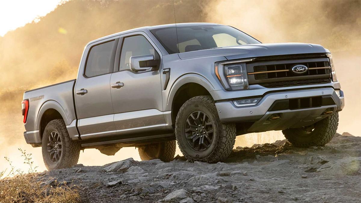Mẫu bán tải cỡ lớn F-series bán nhiều nhất ở Mỹ năm 2020. Ảnh: Ford