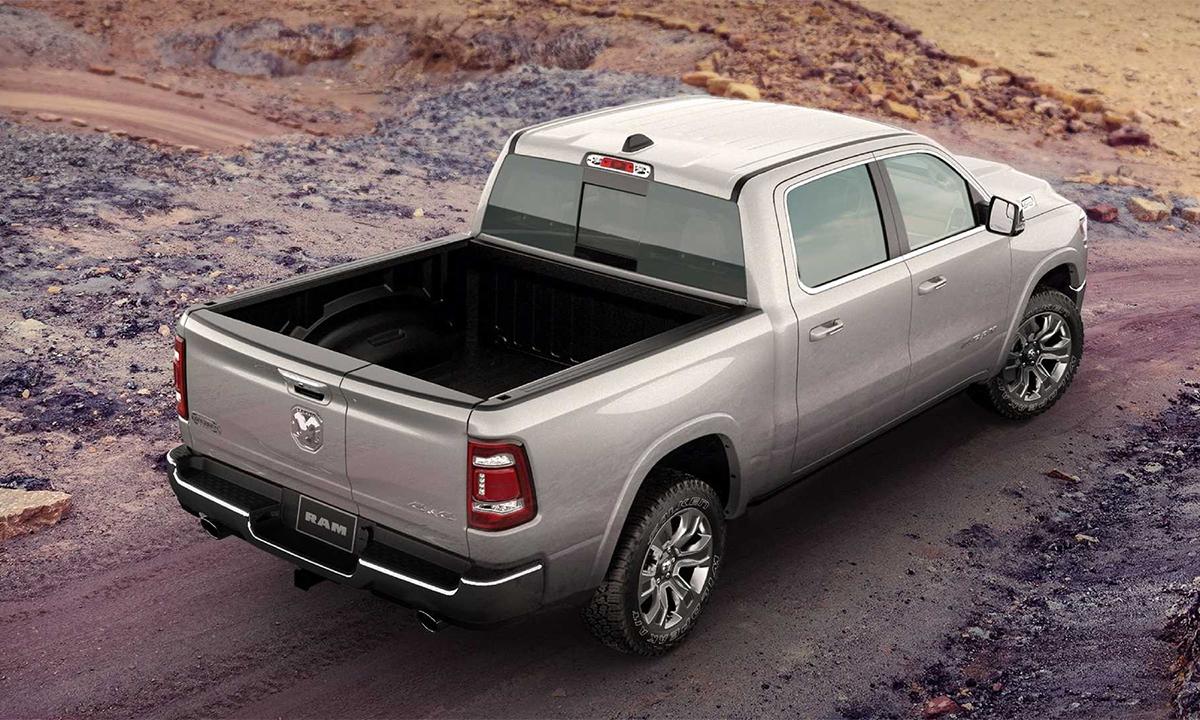 RAM Pickup, một trong ba mẫu bán tải cỡ lớn ưa chuộng nhất ở Mỹ. Ảnh: RAM
