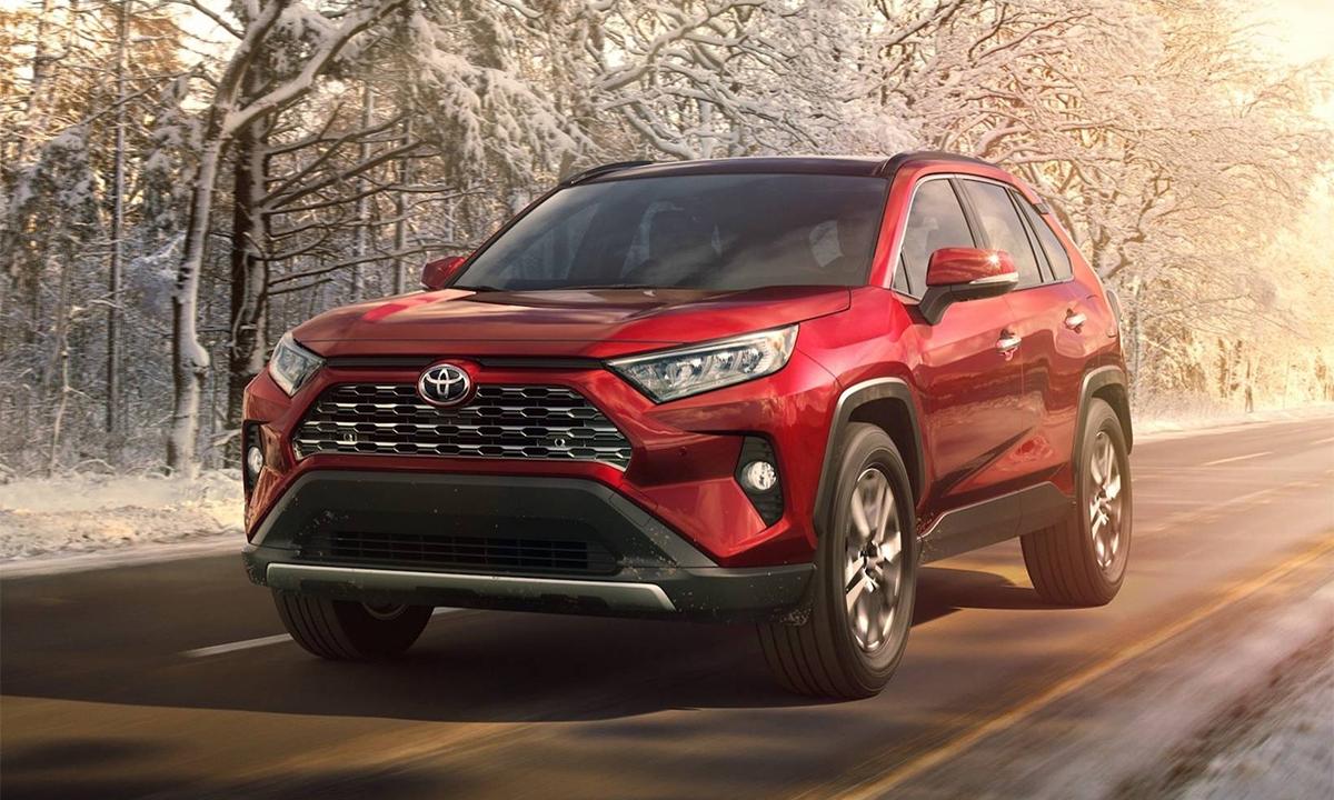 Doanh số của RAV4 năm 2020 giảm 3,9% so với năm 2019. Ảnh: Toyota