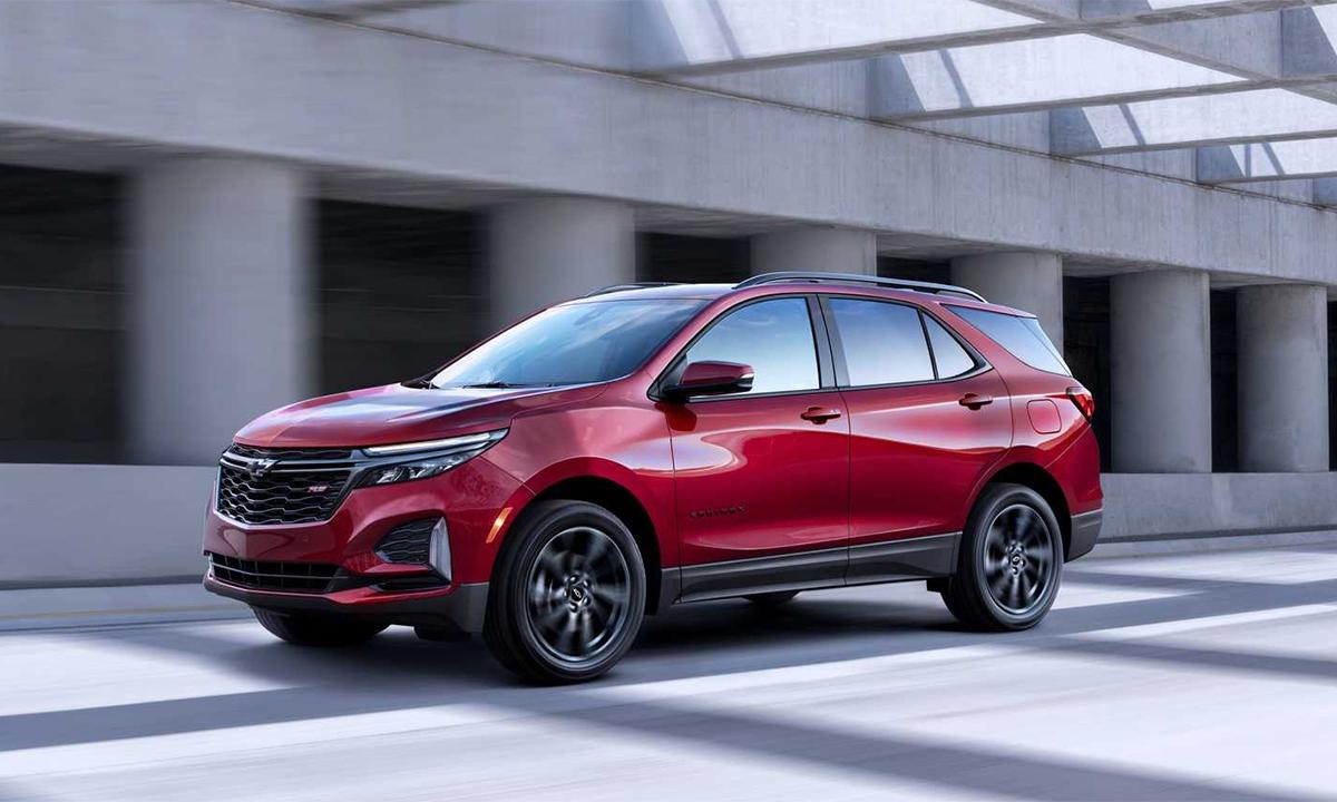 Equinox bán được 270.994 xe trong năm 2020. Ảnh: Chevrolet