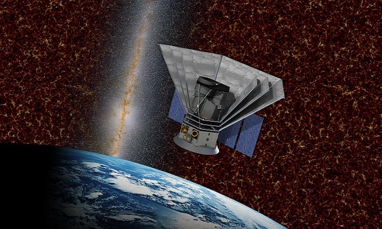 Hình dáng của kính viễn vọng SPHEREx. Ảnh: NASA.