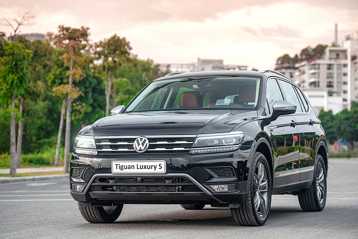 Volkswagen Tiguan 2021 tại Việt Nam.