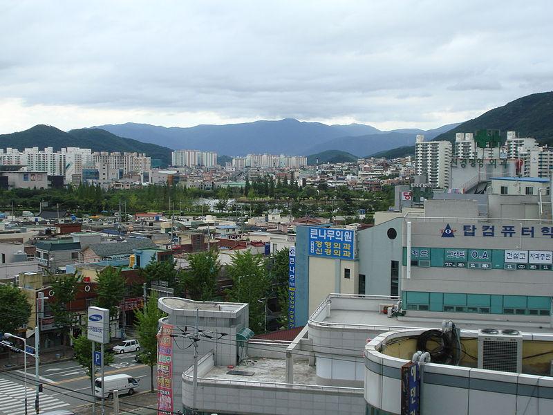 Thành phố Gimhae, tỉnh Gyeongsang Nam, Hàn Quốc. Ảnh: Wikipedia.
