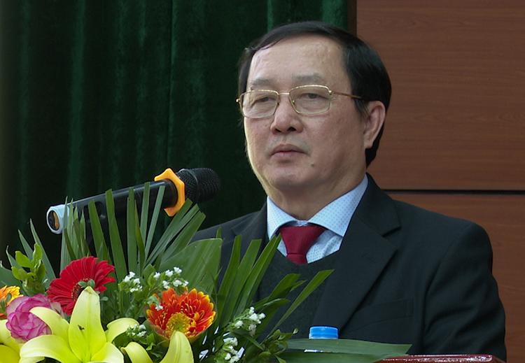 Bộ trưởng Huỳnh Thành Đạt nêu những điểm cần lưu ý trong hoạt động năm 2021 của Tổng cục Tiêu chuẩn Đo lường, Chất lượng. Ảnh: HA.