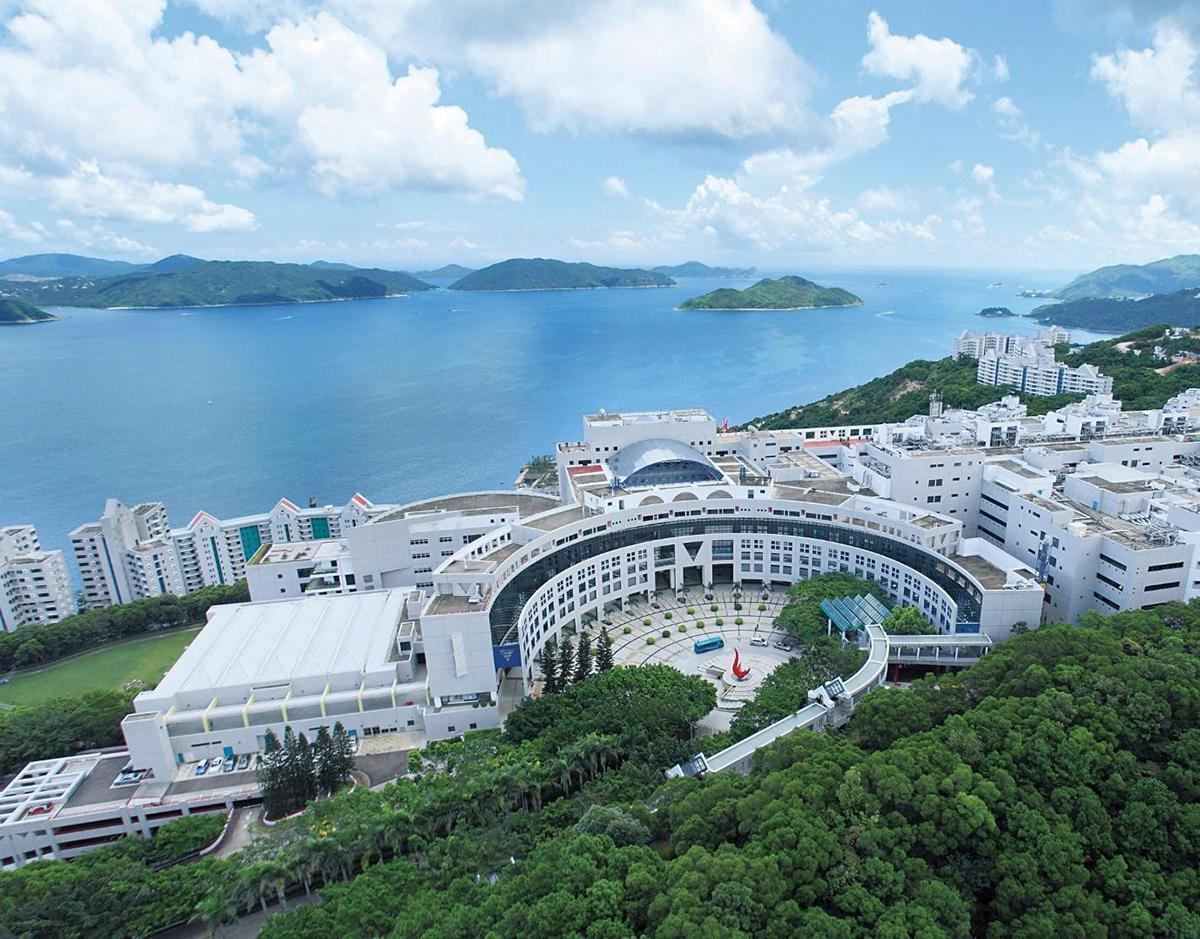 Khuôn viên Đại học Khoa học và Công nghệ Hong Kong (HKUST) nhìn từ trên cao. Ảnh nhà trường cung cấp.