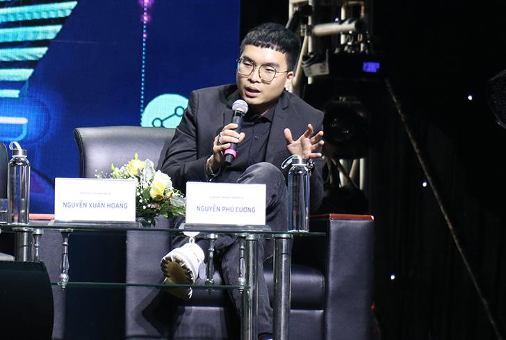 Ông Nguyễn Phú Cường, Giám đốc Marketing Biti's nhận định yếu tố chất lượng sản phẩm là quan trọng trong đổi mới sáng tạo. Ảnh: NX.