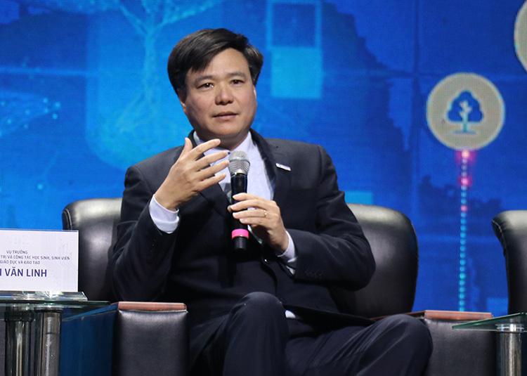 Ông Đàm Quang Thắng, thành viên cấp cao Đề án 844 gợi ý đào tạo giảng viên nguồn về đổi mới sáng tạo. Ảnh: NX.