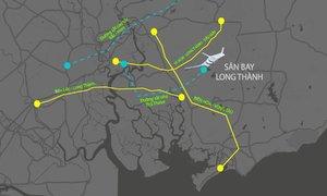 5 tuyến giao thông kết nối sân bay Long Thành