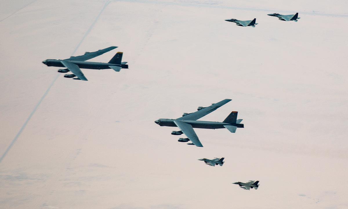 Mỹ lại điều B-52 tuần tra Trung Đông