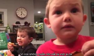 Cậu bé 4 tuổi nêu lý do không muốn lấy vợ