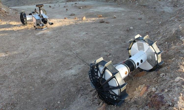 Thiết kế của robot DuAxle. Ảnh: NASA.
