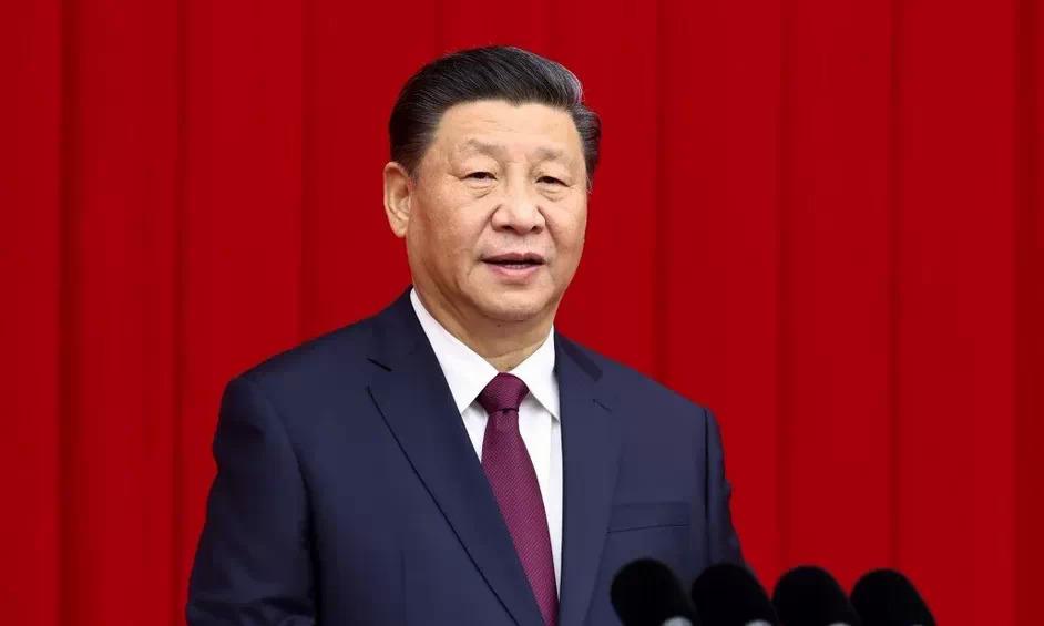 Chủ tịch Tập Cận Bình trong một cuộc họp tại Bắc Kinh. Ảnh: Xinhua.