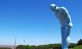 Nên đặt bức tượng Hàn Quốc tặng ở không gian hiện đại của Huế