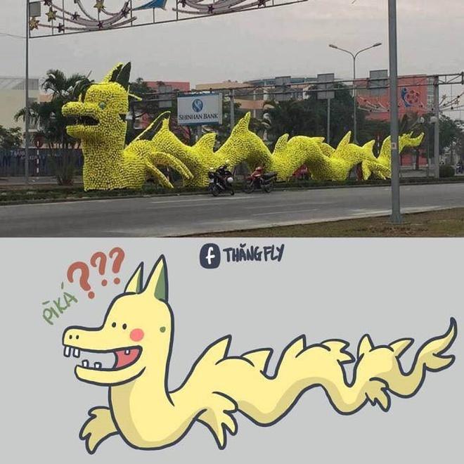 Rồng Pikalong nổi tiếng.