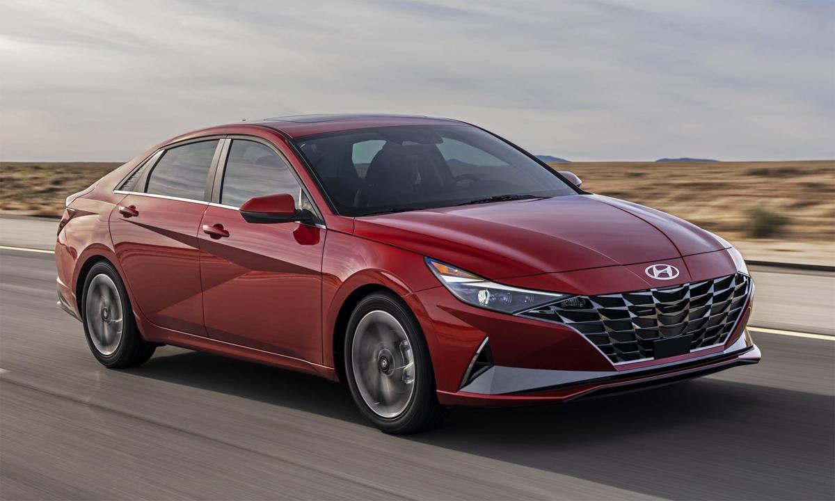 Elantra thế hệ mới. Ảnh: Hyundai
