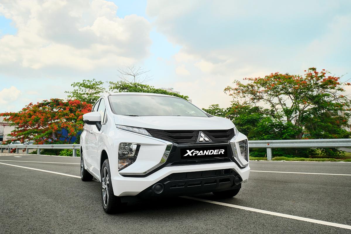Xpander 2020 bản số sàn lắp ráp tại Việt Nam. Ảnh: Mitsubishi