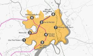 8 dự án giao thông kết nối TP Thủ Đức