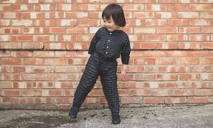 Mẫu quần áo có thể lớn cùng trẻ
