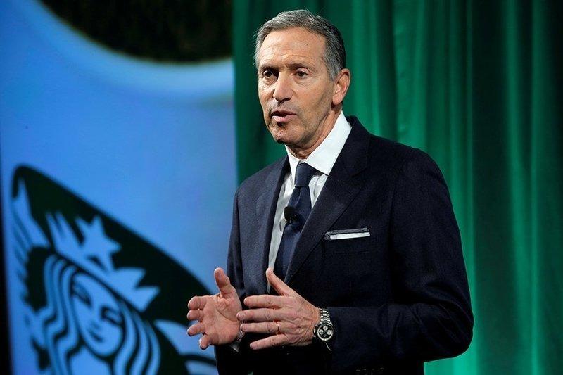 Chủ tịch Starbucks Howard Schultz. Ảnh: Reuters