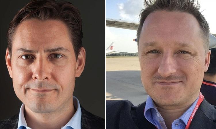 Michael Kovrig và Michael Spavor, hai công dân Canada bị Trung Quốc bắt giam. Ảnh: CTVNews.